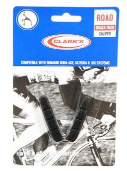 Clark's - Road Cartridge Brake Shoe & Insert