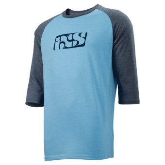 IXS - Blue 3/4 T-Shirt