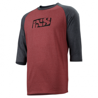 IXS - Red 3/4 T-Shirt