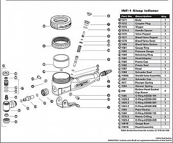 Park Tool - INF-1/2 Parts