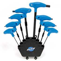 Park Tool - PH-1 - P-Handled Hex Wrench Set