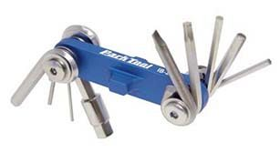 Park Tool - IB-2 - Folding I-beam, Hex Wrench, Screwdriver, Torx Set