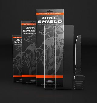 Bike Shield - Protective Stickers, 10 Pack